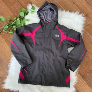 North Face | Girls Grey & Pink Snow Coat Jacket